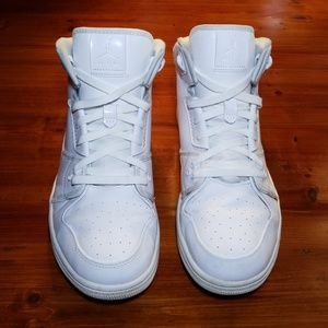 fd84c277cfd562 Jordan Shoes - Nike Air Jordan 1 Flight 3. All white. Mens 12.
